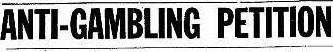 Anti-Gambling Fraud: Intentional or Accidental?