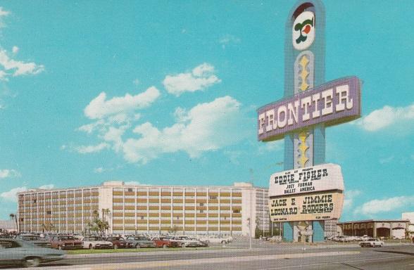 Howard Hughes' Frontier Casino Becomes Guinea Pig