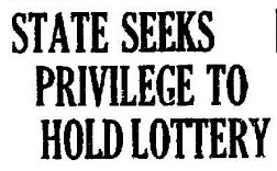 Nevada: Lottery Too Liberal