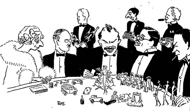 Quick Fact – Depiction of French Gamblers