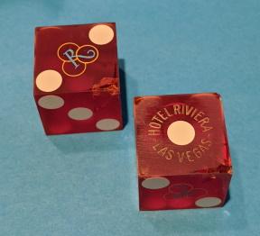 Casino Dice Designed to Thwart Customer Cheating